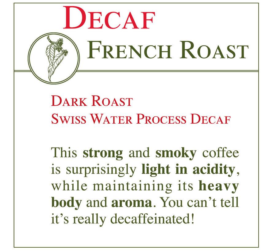 Fresh Roasted Coffee - DECAF French Roast