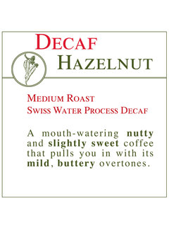 Fresh Roasted Coffee - DECAF Hazelnut