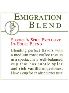 Fresh Roasted Coffee - Emigration Blend
