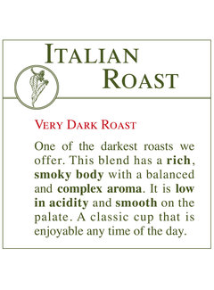 Fresh Roasted Coffee - Italian Roast