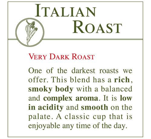 Fresh Roasted Coffee - Italian Roast