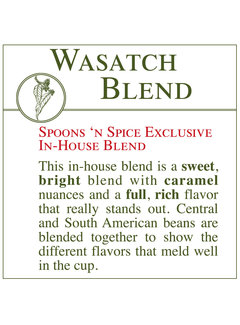 Fresh Roasted Coffee - Wasatch Blend