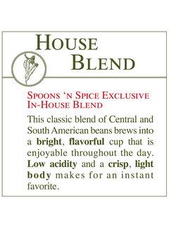 Fresh Roasted Coffee - House Blend