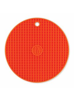 ThermoWorks Silicone Hot Pad/Trivet - Orange