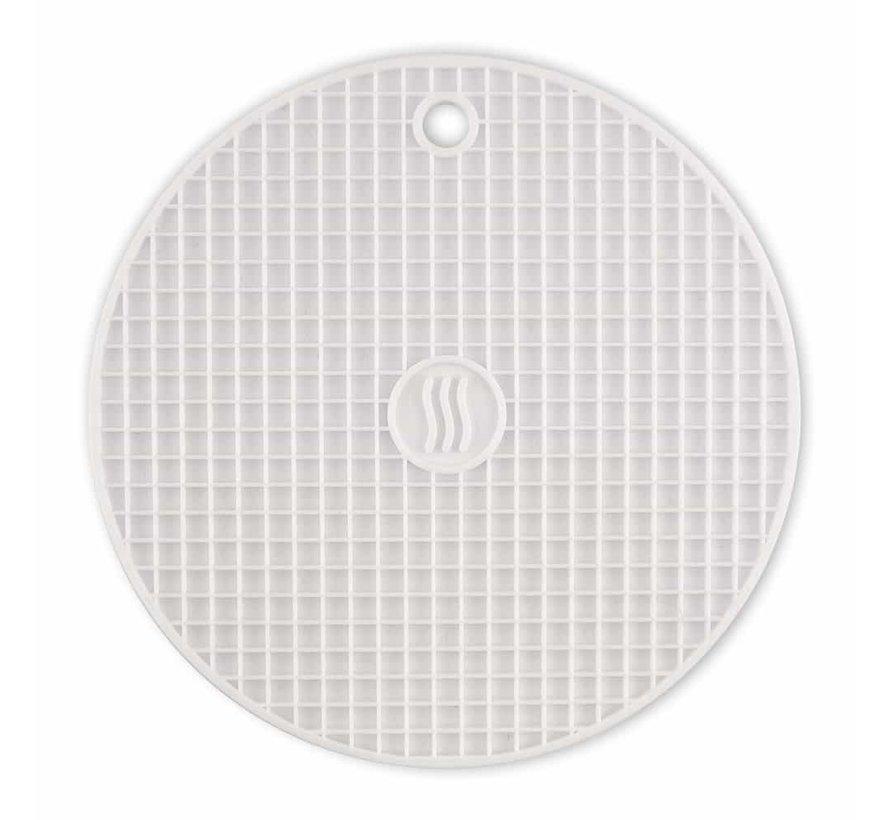 Silicone Hot Pad/Trivet - White