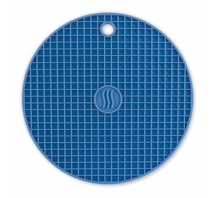Silicone Hot Pad/Trivet - Blue