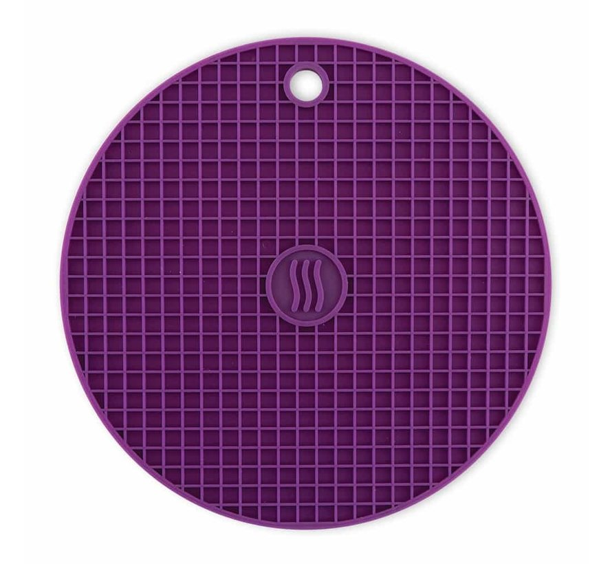 Silicone Hot Pad/Trivet - Purple
