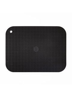 "ThermoWorks 9""x12"" Silicone Hot Pad/Trivet - Black"
