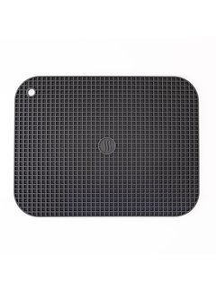 "ThermoWorks 9""x12"" Silicone Hot Pad/Trivet - Charcoal"