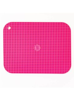 "ThermoWorks 9""x12"" Silicone Hot Pad/Trivet - Pink"