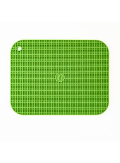 "ThermoWorks 9""x12"" Silicone Hot Pad/Trivet - Green"