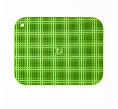 """ThermoWorks 9""""x12"""" Silicone Hot Pad/Trivet - Green"""