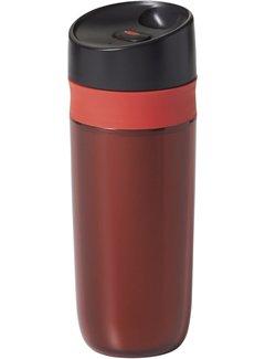 OXO Good Grips Double Wall Travel Mug - 15 Oz. - Red