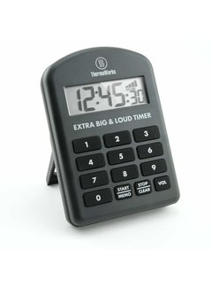 ThermoWorks Extra Big & Loud Timer - Black