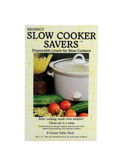 Regency Slow Cooker Savers Pk/8