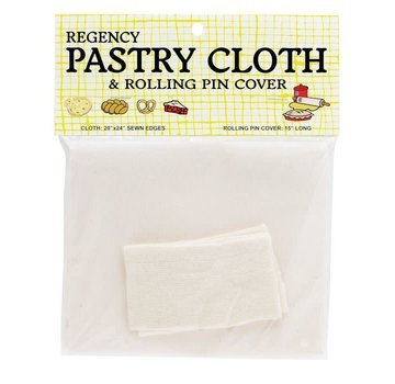 Regency Pastry Cloth & Rolling Pin Cover