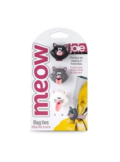 Joie Meow Bag Ties 3 Pc