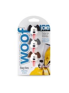 Joie Woof Bag Ties 3/PCS