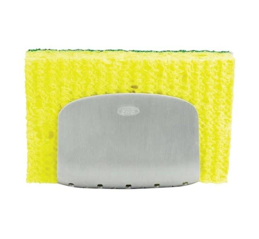 STEEL Suction Sponge Holder