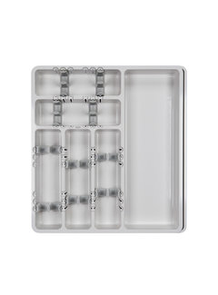 OXO Good Grips Large Expandable Utensil Organizer - Gray