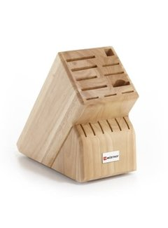 Wusthof 17-Slot Block - Natural Wood