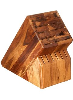 Wusthof 17-Slot Acacia  Wood Knife Block