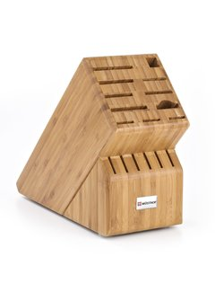 Wusthof 17-Slot Bamboo Knife Block