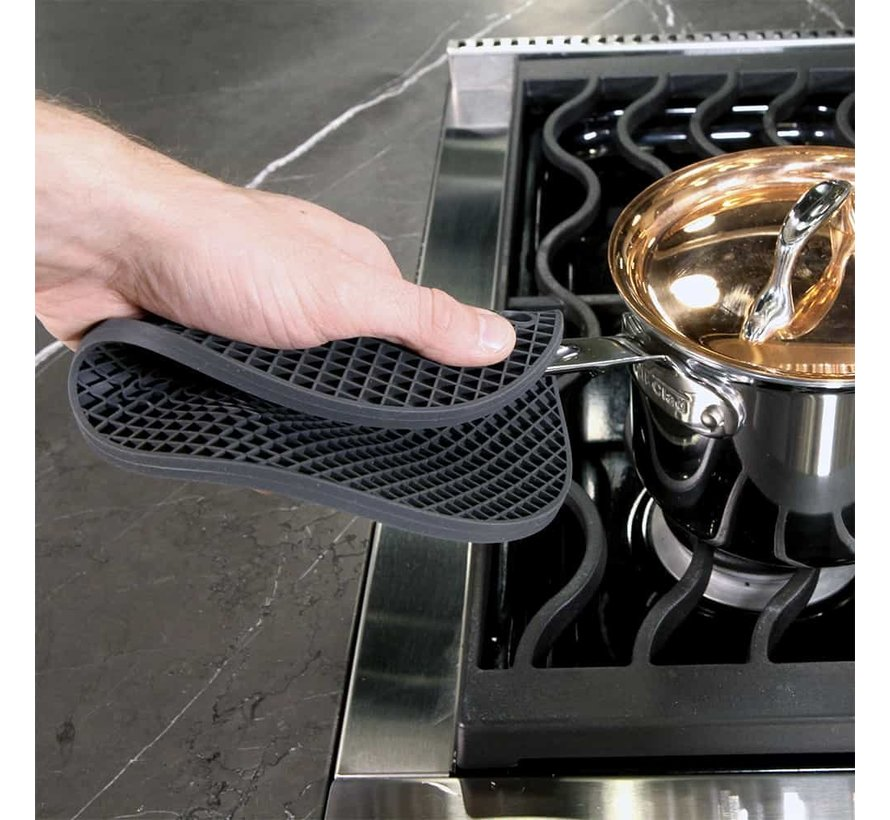 Silicone Hot Pad/Trivet - Charcoal