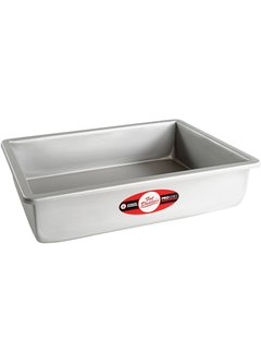 "Fat Daddio's Square Cake Pan 12"" X 12"" X 3"""