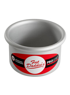 "Fat Daddio's Round Cake Pan 3"" x 2"""