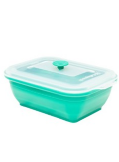 Collapse It 3 Cup Silicone Rectangle - Turquois