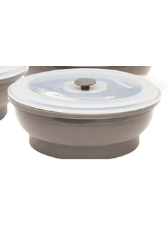 Collapse It 6 Cup Silicone Round - Grey