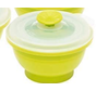 1 Cup Silicone Round - Green