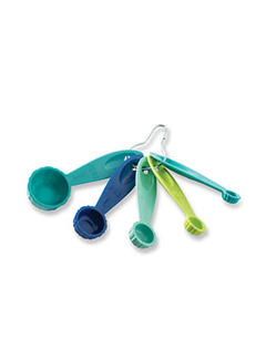 Nordic Ware Bundt Measuring Spoons - Set of 5, Multi-Colored