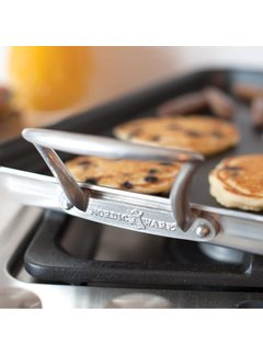 "Nordic Ware 2 Burner Hi-Sided Griddle, 20"" x 11"""