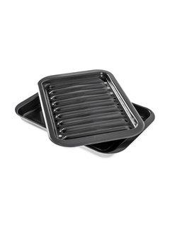 "Nordic Ware Broiler Grill/Oven Pan Set 9"" x 13"""