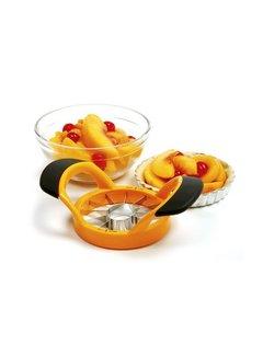 Norpro Grip-EZ Peach Wedger/Pitter