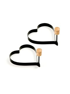 Norpro Heart Pancake/Egg Rings, 2 Pcs.