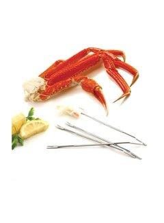 Norpro S/S Seafood Forks/Picks, 4 Pcs.