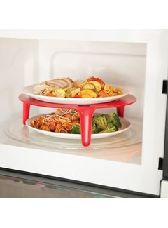 Nordic Ware Microwave Plate Stacker