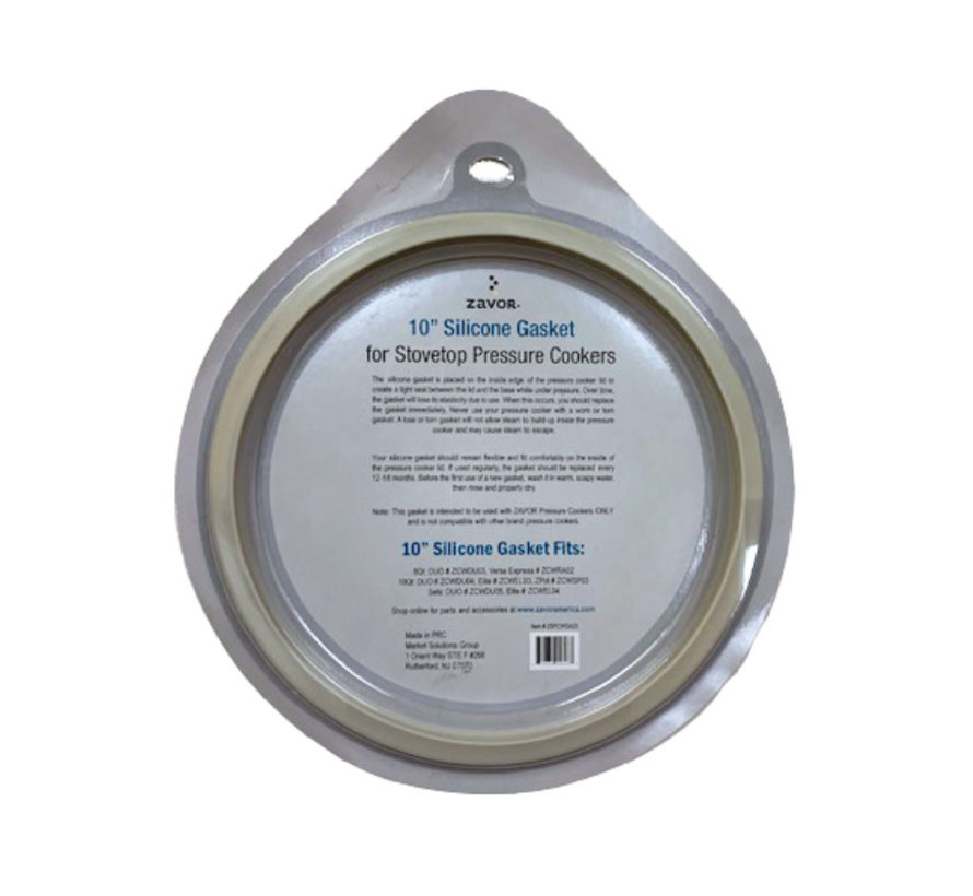 """10"""" Replacement Gasket For 8.4 & 10 Qt. Pressure Cookers"""