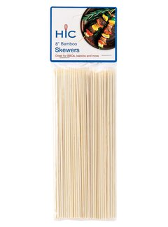 Harold Import Company Inc. Bamboo Skewers 8""