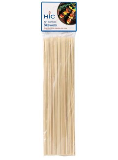 Harold Import Company Inc. Bamboo Skewers 12""