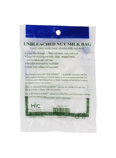 Beyond Gourmet Unbleached Nut Milk Bag