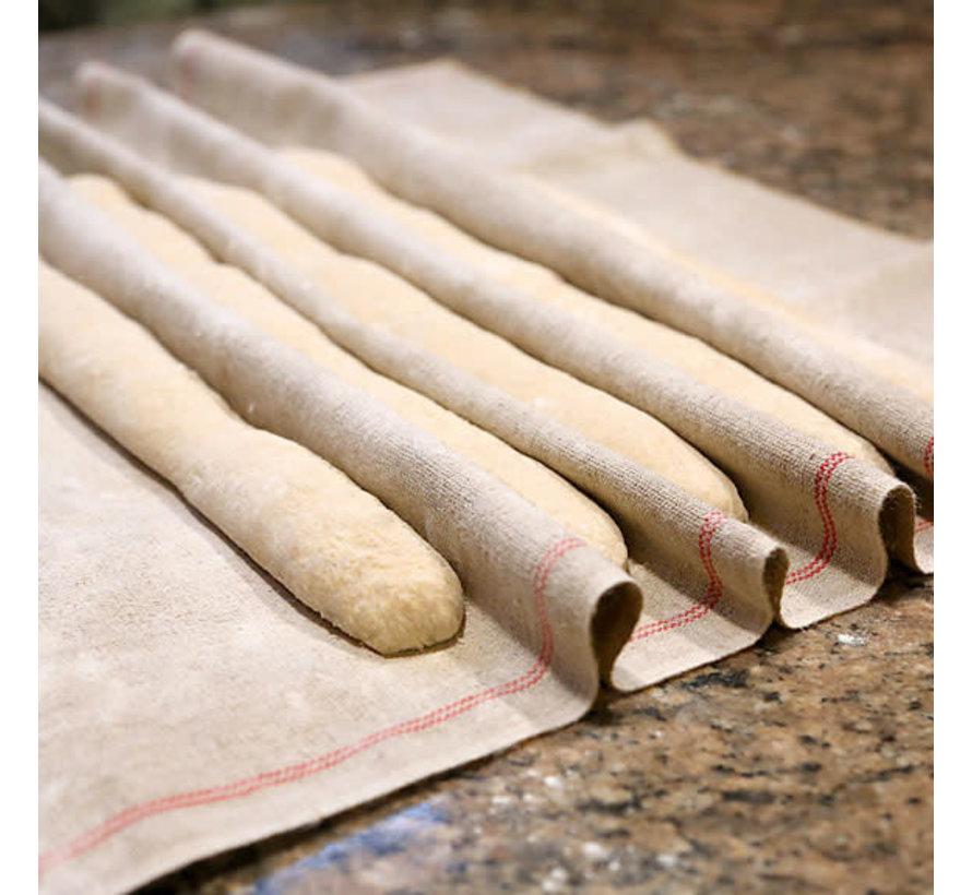"""Flax Linen Baker's Couche - Standard (24"""" x 36"""")"""