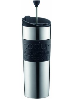 Bodum Travel Press, SS/Vacuum Sealed, 15 Oz.