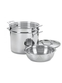 Cuisinart 12 Qt. Pasta/Steamer Set 4 Pc.