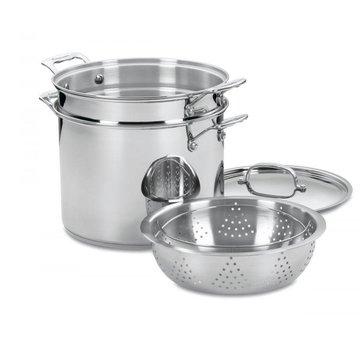 Cuisinart 12 Qt. Pasta/Steamer Set 4 Pc.