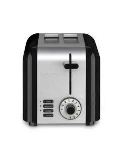 Cuisinart 2-Slice Brushed Stainless Hybrid Toaster