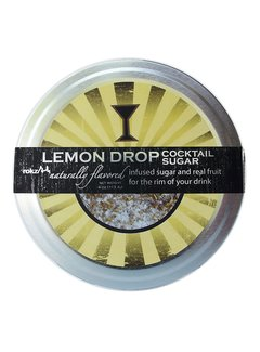 True Rokz Rimmerz 4 oz Lemon Drop Natural Rimming Sugar